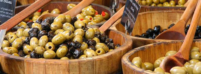 Fougasse olive noire et verte
