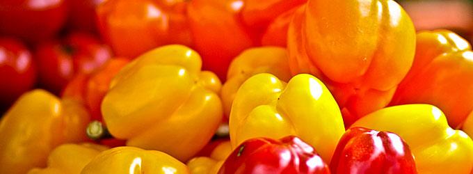 Fougasse poivrons et tomates