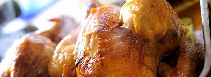 Fougasse poulet rôti et tomme de brebis