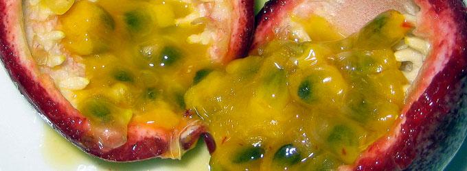 Fougasse ananas fruit de la passion et noix de pecan